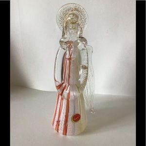 Murano glass angel